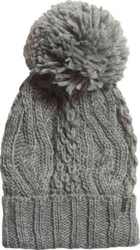 Fox Racing Legendary Pom Beanie girls O/S Grey soft 100% Acrylic One Size Hat
