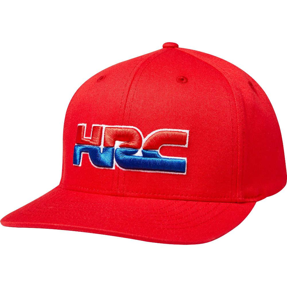 f8b26610b6372 Fox Racing Honda HRC Flexfit Hat Cap Red Unisex Motocross Style 22580-003 RD