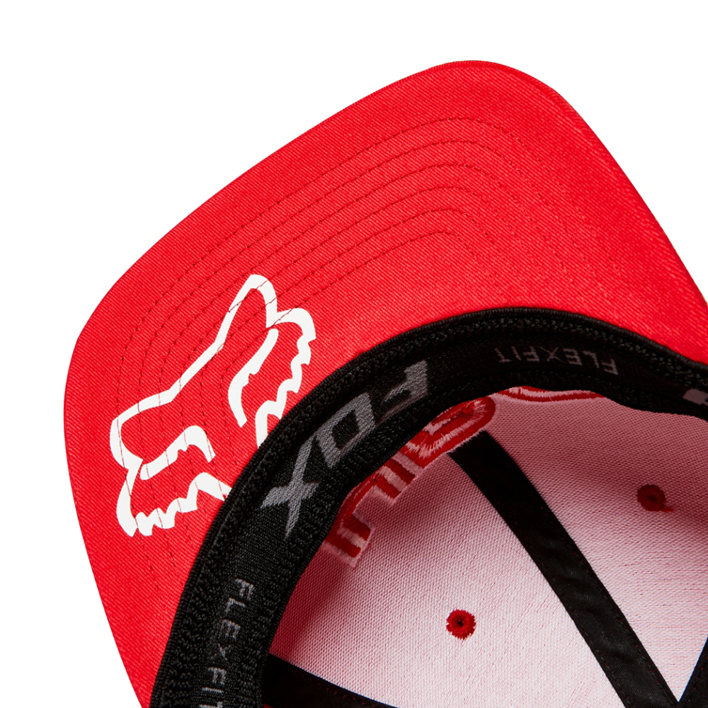 862eb8b5cc98b ... coupon for fox racing honda hrc flexfit hat cap red unisex motocross  style 22580 003 rd