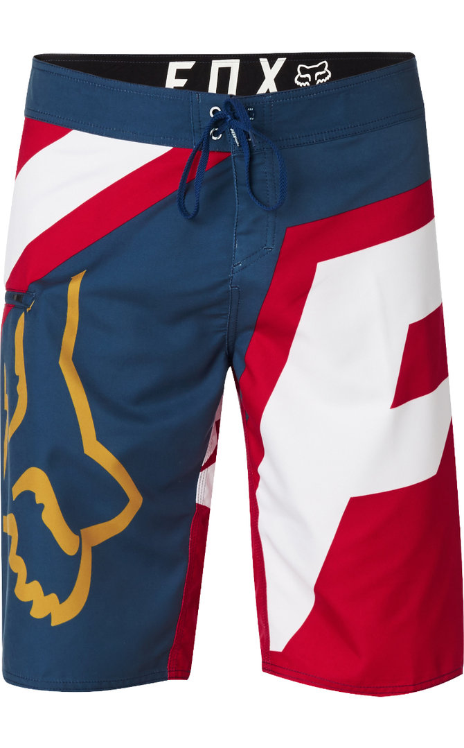 75a0d9ac58 Fox Racing Allday Boardshort Swim / Surf Board Shorts Red White Blue  21127-202 LT ...