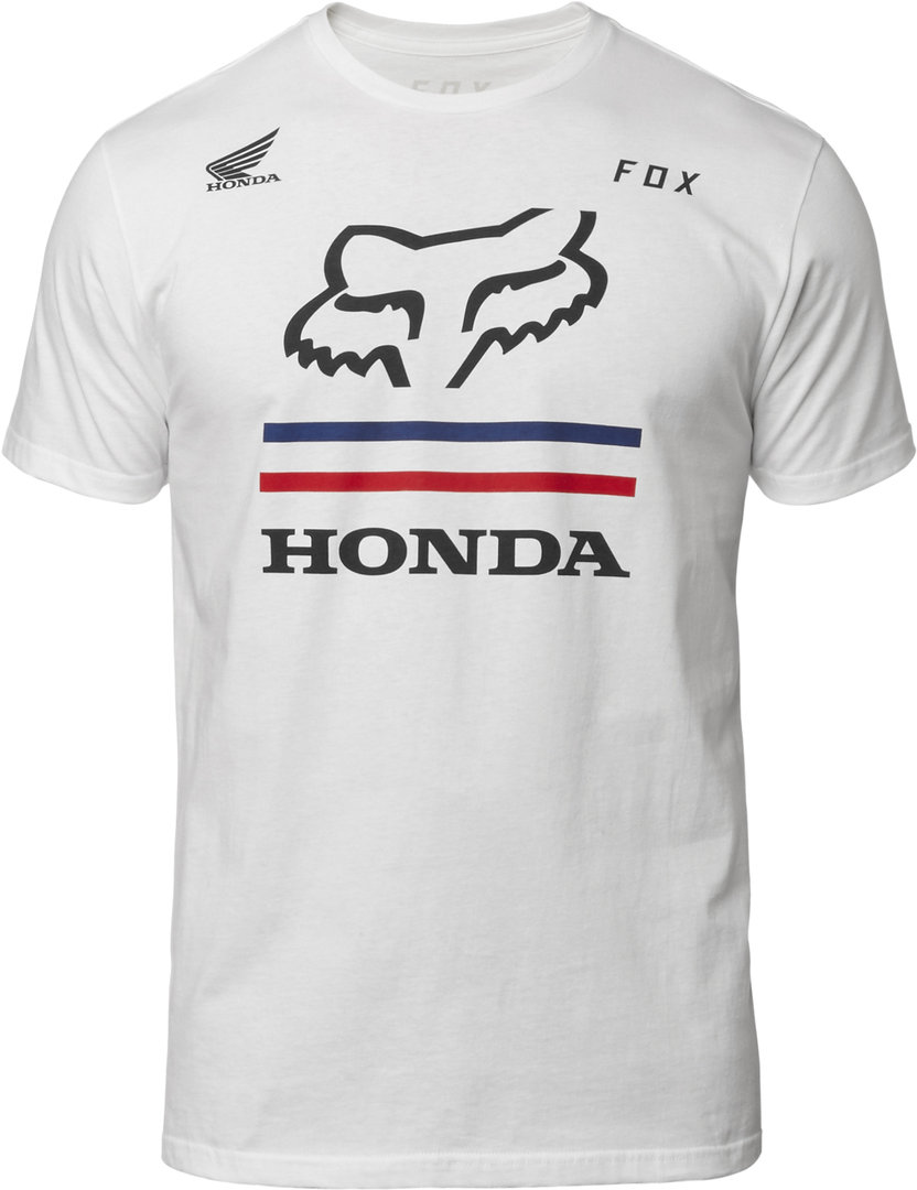 Fox Racing Honda Hrc Ss Tee T Shirt Fox Motocross Since 1974