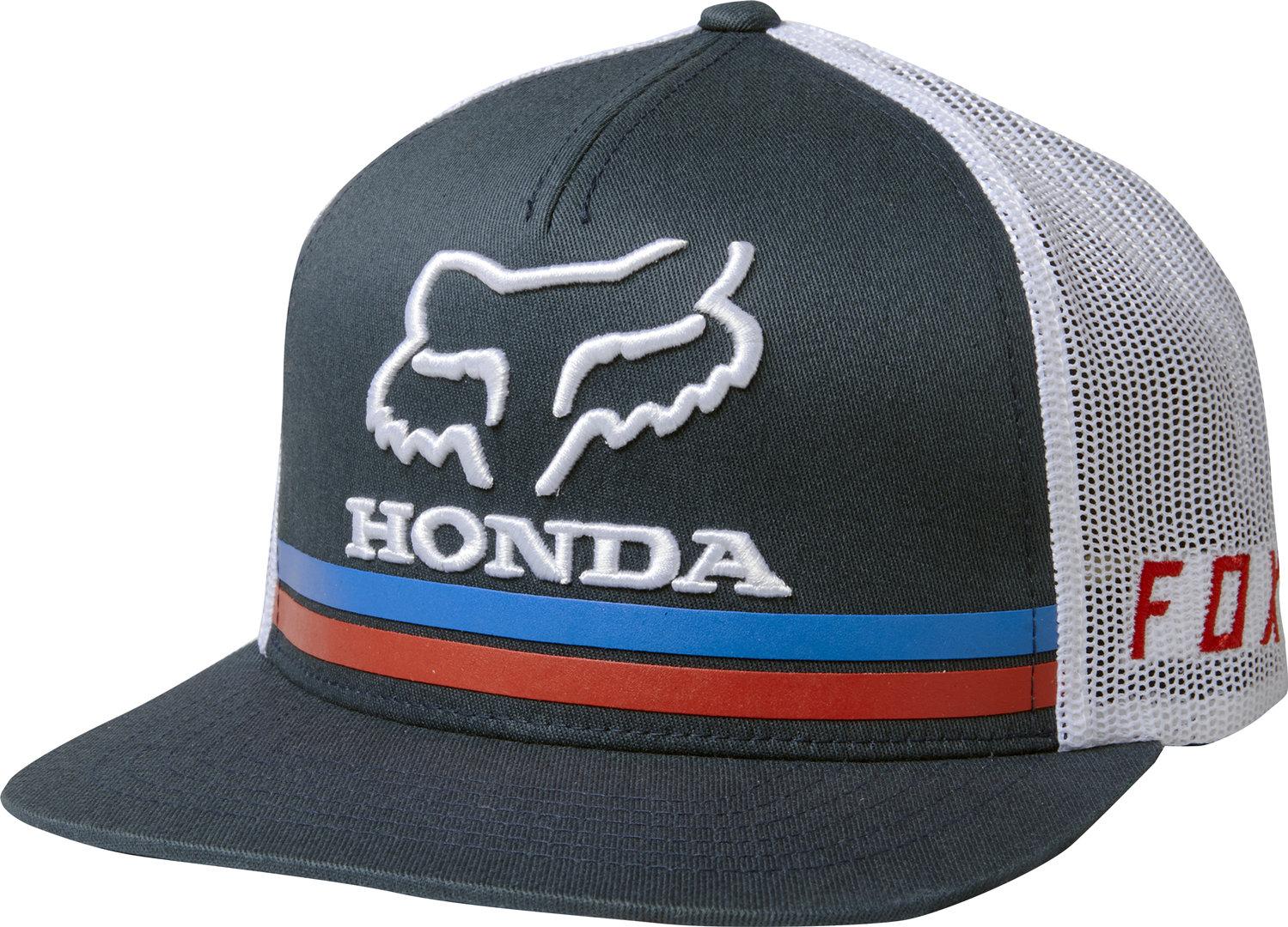 sports shoes 0cafb e1d6b Fox Racing HRC Fox Honda Snapback Hat Cap Unisex Motocross Style 22996-007  NVY ...