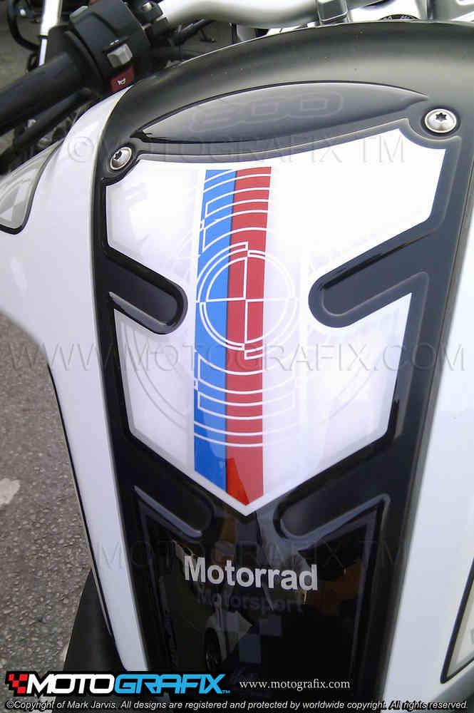 BMW S1000XR 2017 Motorsport Motorcycle Tank pad Motografix 3D Gel Protector
