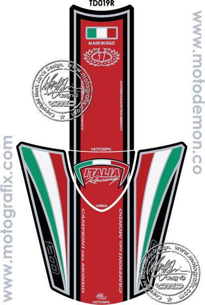 Ducati Diavel 1200 2011 12 13 14 15 Motorcycle Tank Pad Motografix Gel Protector