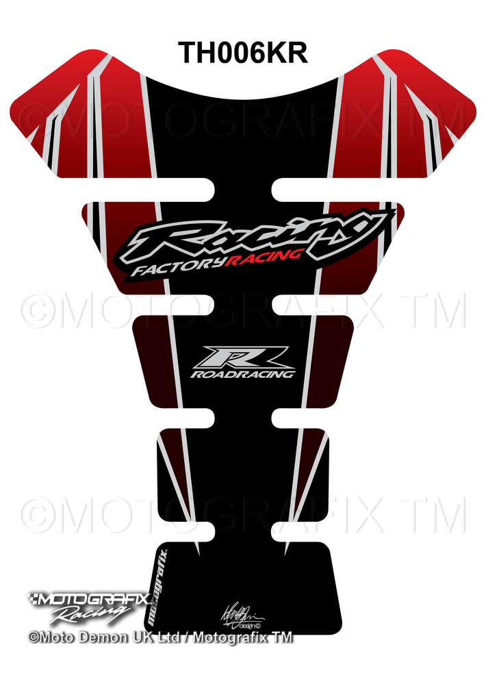 Black 3D Tank Protection for CBR Honda Motorcycle