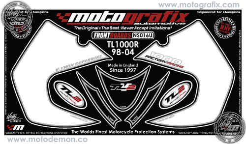 SUZUKI TL1000R 1998-2004 Motorcycle Front Fairing Paint Protector NS016U