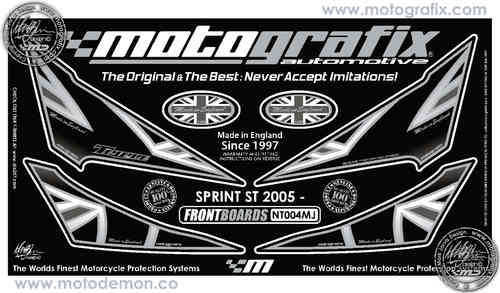 Triumph Sprint ST 2005 2006 2007 2008 2009 Motorcycle Front Fairing Paint Protector NT004MJ