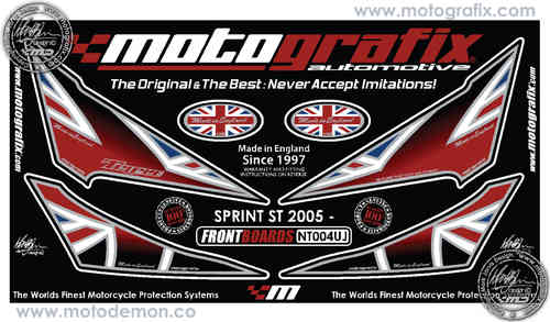 Triumph Sprint ST 2005 2006 2007 2008 2009 Motorcycle Front Fairing Paint Protector NT004UJ