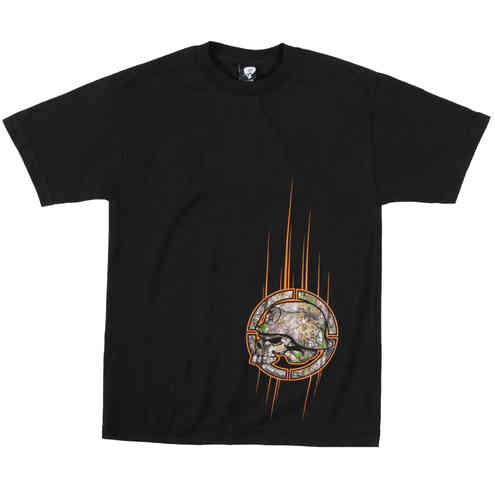 Metal Mulisha Stealth t shirt mens Black / Camo Realtree Style Clothing