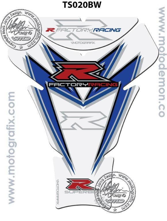 Suzuki GSXR 600 750 04 05 06 Rear Fairing Number Board Motografix Gel Protector