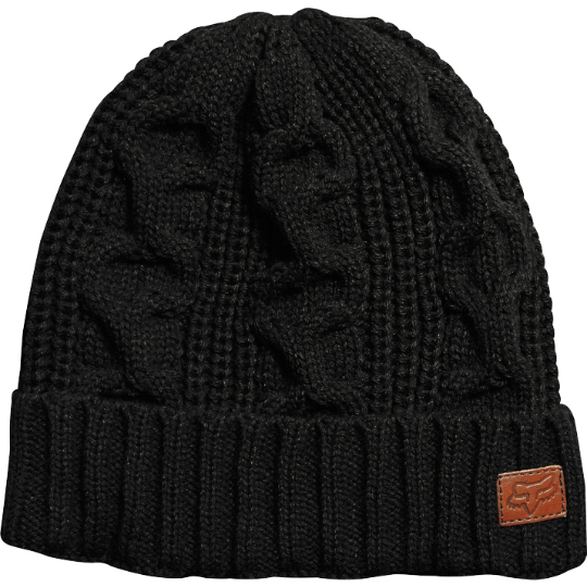 Fox Racing Manic Beanie Mens O S Black Knit Acrylic One Size Hat. Epicycle Flexfit  Hat fb376783cd9e