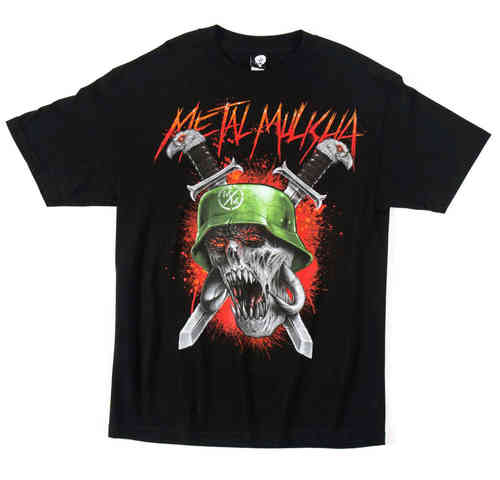 Metal Mulisha Soulless t shirt mens black Short Sleeve Tee