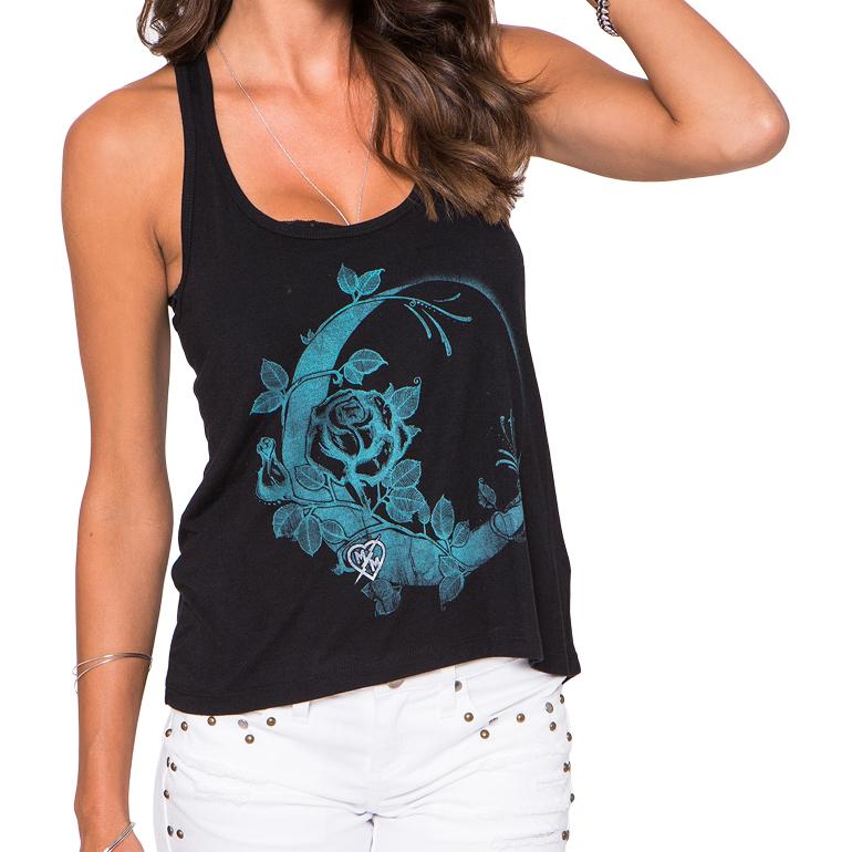 Metal Mulisha Dark Side Of The Moon Tank T shirt womens