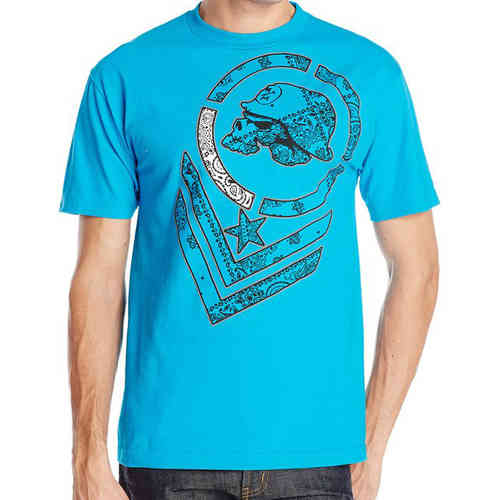 Metal Mulisha Bandeezie T shirt mens Turquoise Short Sleeve Tee