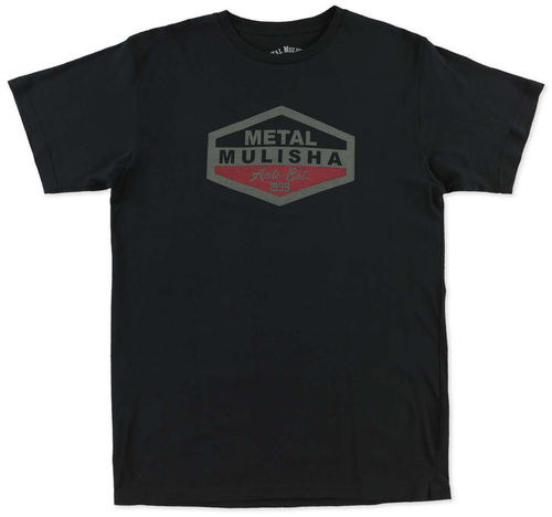 Metal Mulisha Reload T Shirt Mens Black Tee FMX Clothing / Apparel M355S18342 BLK