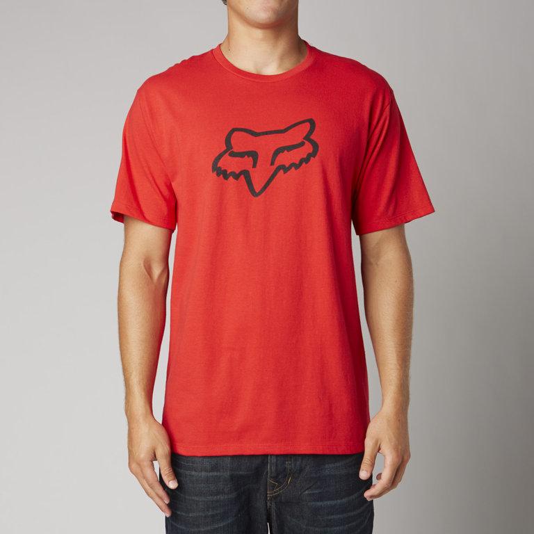 Fox de mangas cortas t-shirt Legacy fox head SS té negro-camo