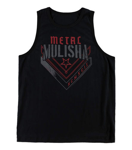 Metal Mulisha Transfer Tank Mens Black Vest / Jersey MX / FMX Clothing SP6523002 BLK
