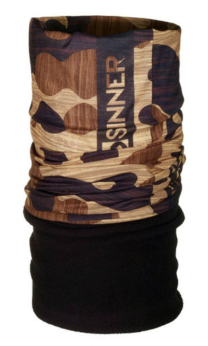 Sinner Wear High Quality Micro Fleece Bandana Wood SIWE-614-41