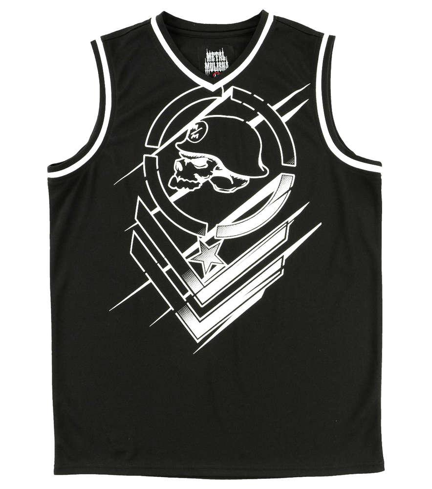 Metal Mulisha Direct Jersey Mens Black White Vest MX / FMX Clothing  SP7511001 BLK
