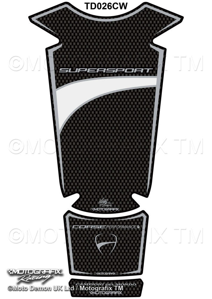 Ducati Supersport//Supersport S Carbon Tank Protector 97480151A