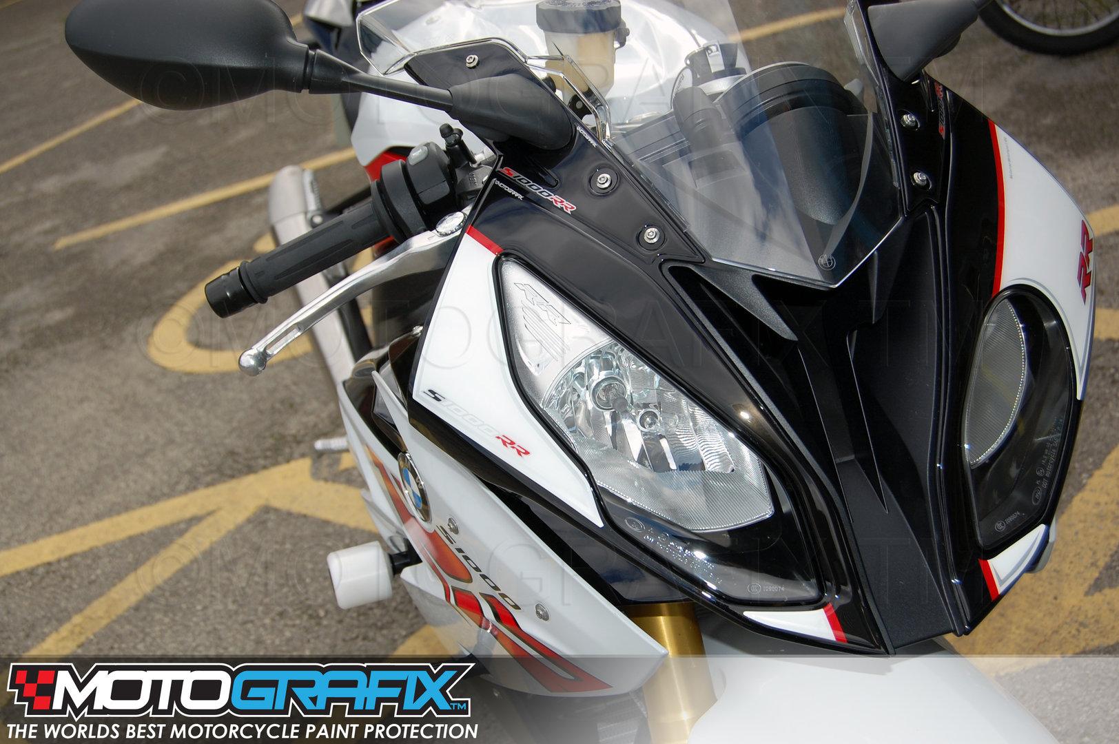 Bmw S1000rr 2017 Front Fairing Motografix Number Board 3d Gel