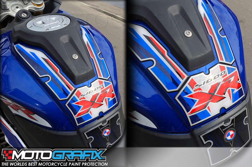 BMW S1000XR 2017 2018 Motorcycle Tank pad Protector Paint Protection Gel Decal
