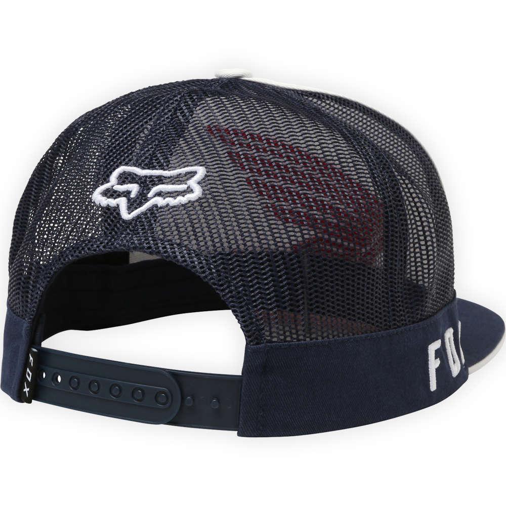 ea78bc650e6a9 Fox Racing HRC Fox Honda Snapback Hat Cap Unisex Motocross Style 21117-045  NVY