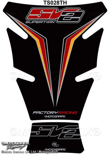 Suzuki GSXR 1000 2013 One Million Edition Motorcycle Tank Pad 3D Gel Protector
