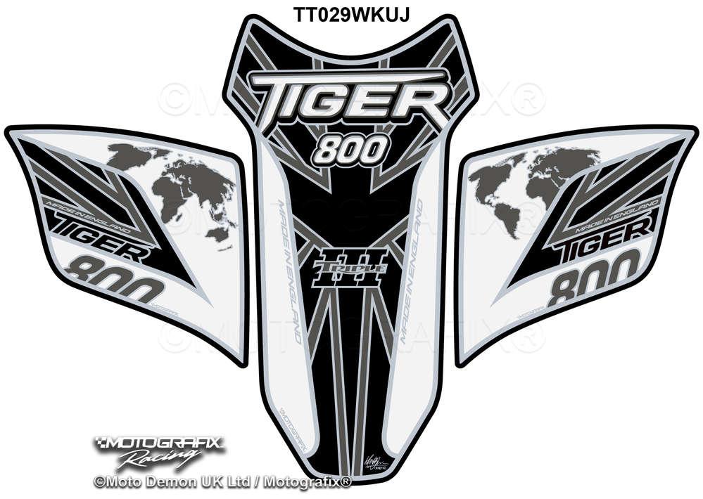 BMW S1000RR 2015 16 17 White Motorcycle Tank Pad Tankpad Motografix Protector