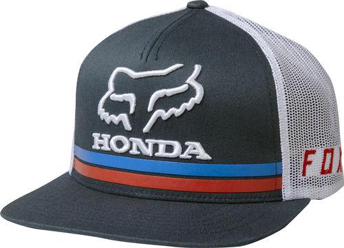 deb40e05d94 Fox Racing HRC Fox Honda Snapback Hat Cap Unisex Motocross Style 22996-007  NVY