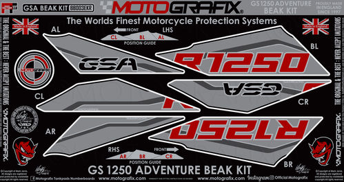 BMW R1250GS Adventure 2019 2020 Motorcycle Beak Paint Protector BB003EKR