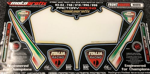 Ducati 748-916-996-998 1993 - 2002 Motorcycle Front Fairing Paint Protector ND001U S1C