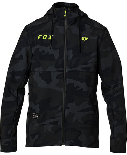 Fox Racing Pit Jacket Insulated Cold Weather Waterproof Coat 24424-247 BLK CAM